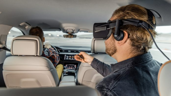 holoride in car vr